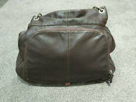 Pacapod leather baby changing bag