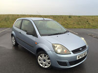 2006 FORD FIESTA 1.2 STYLE ONLY 56,000 MILES FULL SERVICE HISTORY AND NEW MOT WITH NO ADVISORIES!