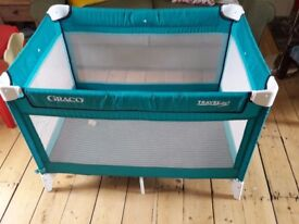 Graco travel cot- very compact and comfortable!