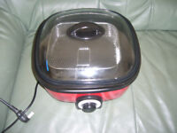 a used red chip fryer NEO CHEF