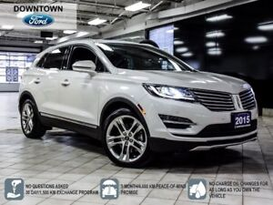 2015 Lincoln MKC AWD | LEATHER | NAVI | PANORAM ROOF | B-UP CAME