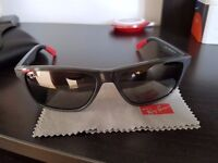 Genuine Ray-ban RB3234 Mens Sunglasses 6185/88 58 Grey Matte Colour Rayban case