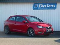 Seat Ibiza 1.2 TSI I Tech 3Dr Hatchback (solid - emocion red) 2014