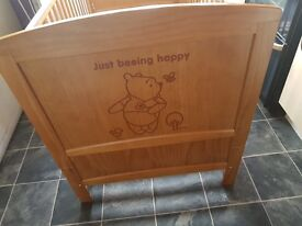 Winnie the pooh cotbed