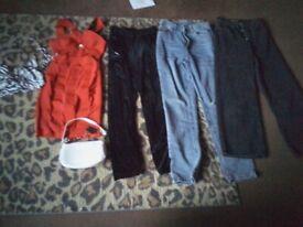 Jeans dress bag velvet bottoms
