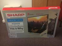 "40"" SHARP LED TV (SMASHED SCREEN)"