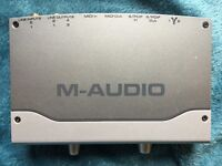 M-Audio Firewire Audiophile soundcard