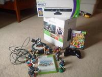 1 year old xbox 360 with 2 controlers