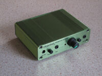 "The Green ""02"" Objective 2 High Quality Headphone Amplifier - AS NEW"