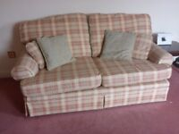 Sofa and 1 chair for sale -good condition