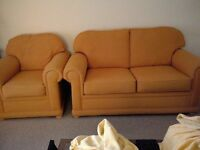 2 seater sofa & 1 seater chair