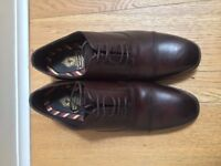 Men's brown oxford shoes UK 8/ EU 42
