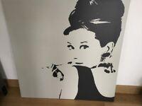 Ikea Audrey Hepburn Print