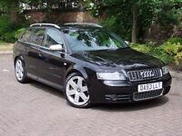 EXCELLENT EXAMPLE! 53 REG AUDI S4 AVANT 4.2 QUATTRO 5dr AVANT 4X4, FULL RECARO LEATHER , 1 YEAR MOT