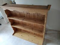 Welsh dresser top 3 shelf -£20