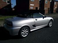 For sale is MG TF 1.6 Petrol Convertible in Silver colour