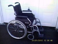 """SUNRISE MEDICAL COMPLETELY FOLD AWAY WHEELS CHAIR 20"""" SEAT"""
