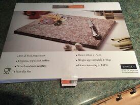 New Scott's of stow granite chopping board