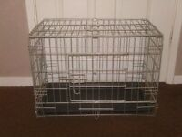 PET CAGE WITH TRAY £10