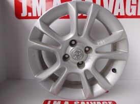 Vauxhall Corsa ALLOY WHEEL R16 removed from 2008