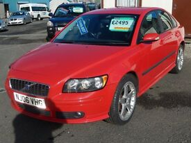 Volvo S40 1.8S Saloon, Red