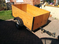 Small camping/DIY trailer in great condition fully refurbished