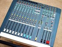 Allen & Heath PA12-CP 500 Watts per Channel Powered Mixer