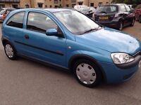 Vauxhaul Corsa 2003 £300 6 month MOT, perfect for a first car