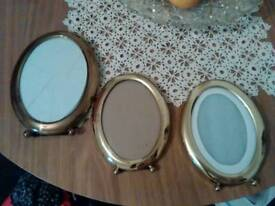 3 Golden frames of photo