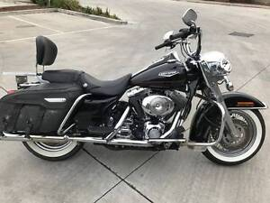 HARLEY DAVIDSON ROAD KING 05/1999MDL 36464KMS CLEAR PRJCT OFFERS Campbellfield Hume Area Preview