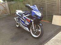 Suzuki gsxr k3 600 2003 swap bandit 1200