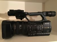 SONY HXR-NX5 in great condition with KATA camera case.