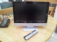 Flat screen TV.