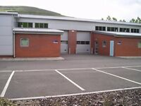 Large 1543 sqft workshop available immediately on a secure site in Ebbw Vale, flexible terms