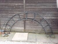 LARGE SOLID STEEL GARDEN ARCH FOR SALE
