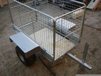 garden trailer galvanized good to use on farms garden or etc