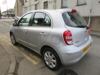 NISSAN MICRA 2011 1.2 ACENTA - F.S.H - HIGH SPEC - LONG MOT - LOW INS polo corsa fiesta clio 2011
