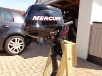 Mercury 3.5 4 stroke Outboard. Good condition.
