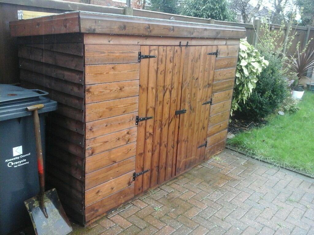 bunker shed double door - open to offers   in Liverpool, Merseyside ...