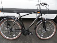 Raleigh Pioneer Trail Brand New Ex Display Hybrid Comfort Town Classic Bike Located Bridgend Area