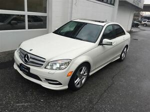 2011 Mercedes-Benz C-Class C300 4MATIC! $0 Down Financing Availa