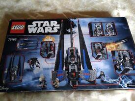 New Lego Star Wars set 75185 BNIB