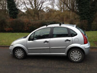 CITROEN C3 1.4 DIESEL 2004 MOT 6 MONTHS £30 A YEAR ROAD TAX-60 MILES PER GALLON-WE CAN DELIVER TO U