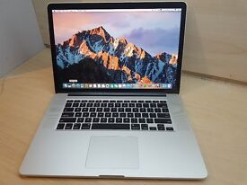 """Apple MacBook Pro 15"""" Retina - Quad i7- Dual Cards - Low Battery Cycle of 121"""