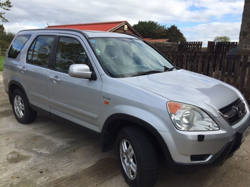 honda cr v 2 0 se sport suv 4x4 i vtec in silver jan 2003 fsh one owner genuine 70000 miles. Black Bedroom Furniture Sets. Home Design Ideas