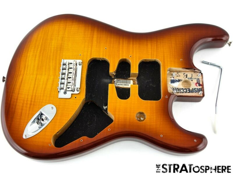 Fender Player PLUS TOP Stratocaster Strat BODY + HARDWARE Tobacco Burst