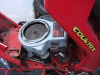 tractor countax engine 13hp full working ready to go
