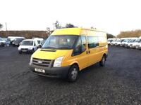 FORD TRANSIT T350 LWB CREWVAN##1 OWNER DIRECT FROM COUNCIL##