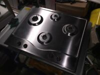 Hotpoint Gas Hob in Stainless Steel
