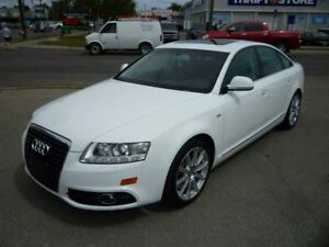 2011 Audi A6 3.0 QUATTRO S LINE/LEATHER/ALLOYS/AWD!!